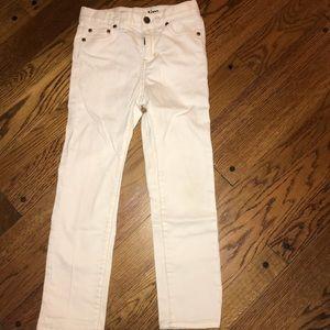 Girls J Crew size 7 slim jeans